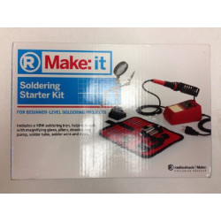 MAKE: IT SOLDERING STARTER KIT