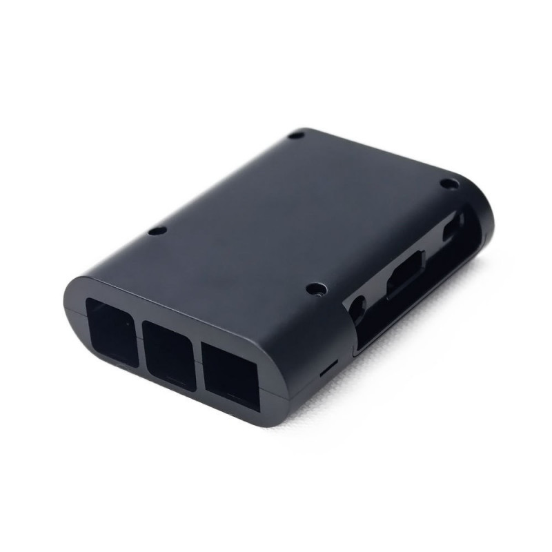 ENCLOSURE, RASPBERRY PI 2/B+ CASE,  ABS , BLACK