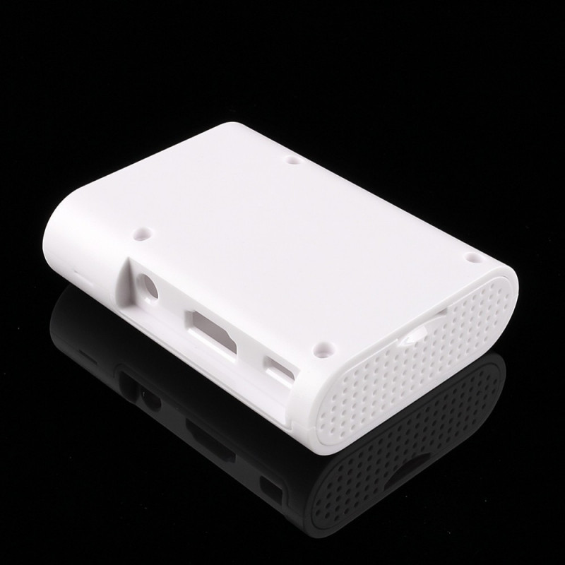 ENCLOSURE, RASPBERRY PI 2/B+ CASE,  ABS , WHITE