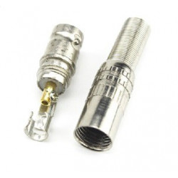 BNC FEMALE CONNECTOR SOLDER TYPE SLF-5065