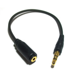 3.5MM PLUG TO 2.5MM JACK IN LINE
