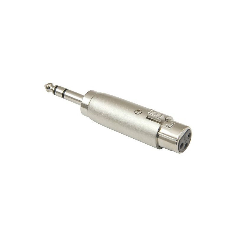 "1/4"" STEREO TO XLR FEMALE ADAPTER SLF-5854"