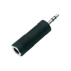 """1/4"""" JACK TO 3.5MM PLUG ADAPTER STEREO SLF-3520A"""