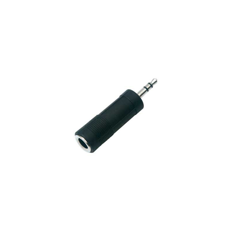 "1/4"" JACK TO 3.5MM PLUG ADAPTER STEREO SLF-3520A"