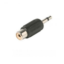 RCA JACK - 3.5MM PHONE PLUG ADAPTOR