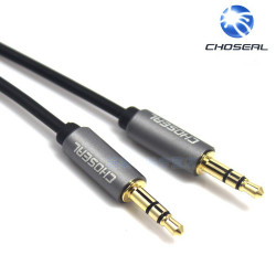 AUDIO CABLE, 3.5MM M/M, 1.8M, BLACK QC3311A