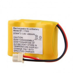 BATTERIES 3.6V 400MAH NI-CD CORDLESS PHONE