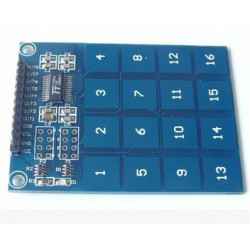 16 CHANNEL TTP229 CAPACITIVE TOUCH SWITCH