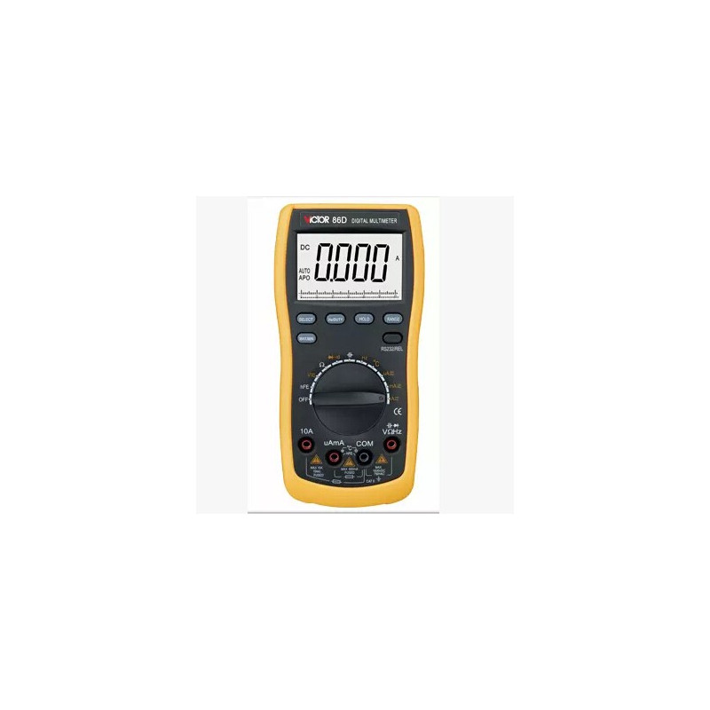 DIGITAL MULTIMETER VICTOR86D RS232