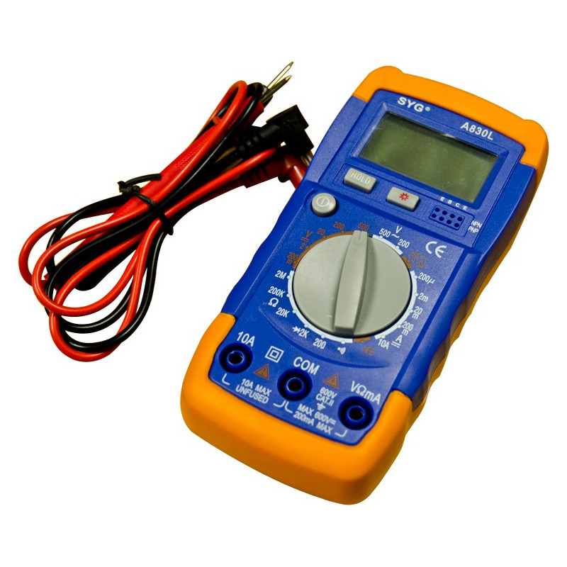 DIGITAL MULTIMETER A830L