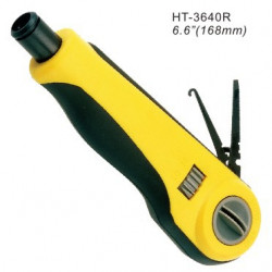 PUNCH DOWN TOOL NO BLADE W/SOFT RUBBER HT-3640R