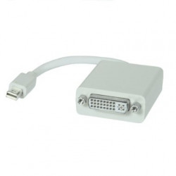 MINI DISPLAYPORT/THUNDERBOLT TO DVI CABLE 0.15m