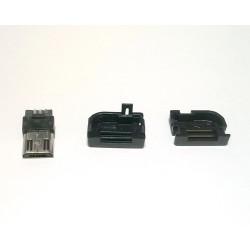 USB DIY CONNECTOR SHELL - TYPE B R/A MICRO-B PLUG