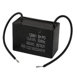 FAN CAP, 450VAC, 8UF 5%