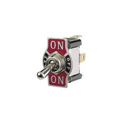 "TOGGLE SWITCH ON-OFF-ON SPDT 125V 15A 0.25"" TAB"