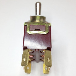TOGGLE SWITCH, DPST,ON-OFF, 20A SOLDER LUG T702 AT