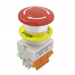 EMERGENCY SWITCH RED NILEPB-30 1NO+1NC
