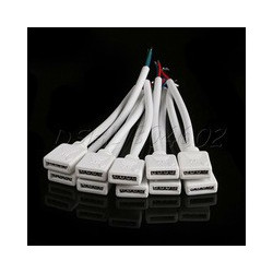 4 PIN CONNECTOR (F) OR (M) FOR 5050 RGB LED STRIP
