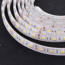 LED STRIP, 5050, 12V, W/ TUBE, WARM WHITE 2800K