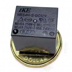 RELAY,HKE,HRS4,6VDC COIL,SPDT,10A