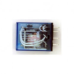 RELAY,OMRON,MY4J,4PDT,24VAC COIL,5A