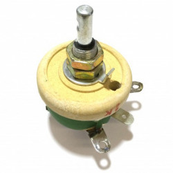 POTENTIOMETER 25W 1OHM WIRE WOUND