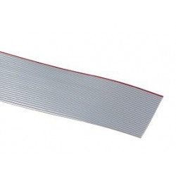 FLAT RIBBON CABLE GREY 10PINS - PER FOOT
