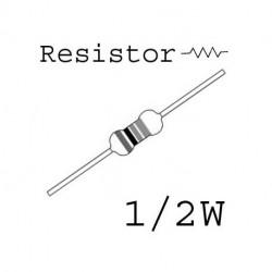 RESISTORS 1/2W 470OHM 1% 10PCS