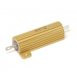 POWER RESISTORS 25W 100OHM WIREWOUND W/HEAT SINK