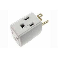 GROUNDED OUTLET 1 TO 3 OUTLETS SQUARE SHAPE