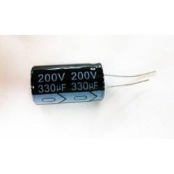 ELECTROLYTIC CAP 200V 330UF
