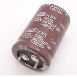 ELECTROLYTIC CAP 100V 2200UF