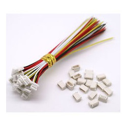 JUMPER WIRE, JST, 5PIN, 1MM (M/F) SET