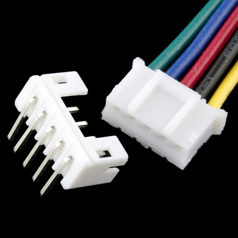 CONNECTOR 2MM 2-PIN/SOCKET