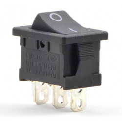 ROCKER SWITCH SPDT ON-OFF 125V 6A
