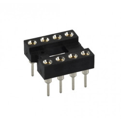 IC SOCKET 8-PIN MACHINE 2PCS