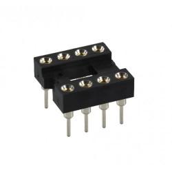 IC SOCKET 8-PIN MACHINE 2PCS