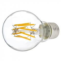 LED FILAMENT BULB COLD WHITE 6W 110V-240V E27
