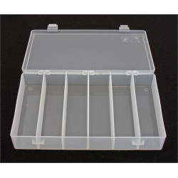 PLASTIC BOX 1212, 203X102X37MM