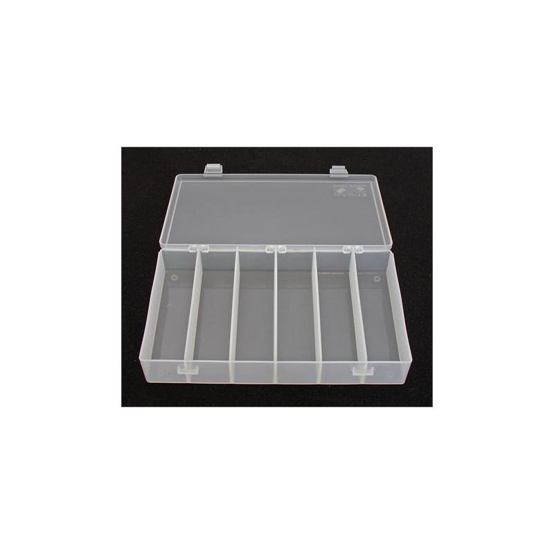 PLASTIC BOX 1212, 203X102X37MM