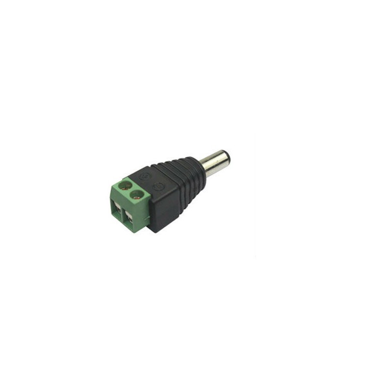 2.1MM DC POWER PLUG TO TWO TERMINALS
