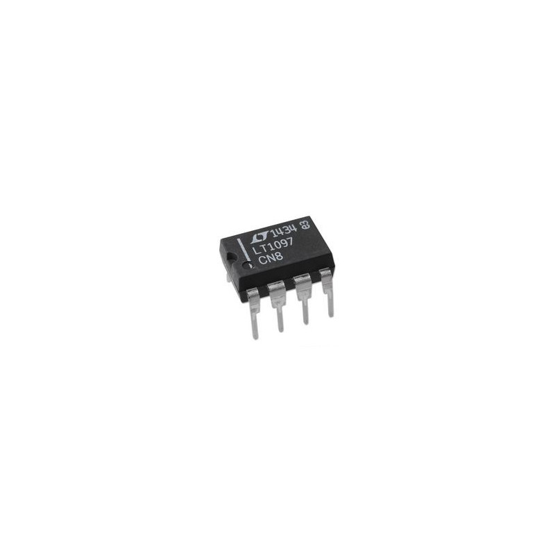 LT1097CN8, SINGLE OP-AMP, LOW POWER, 700KHZ