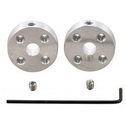 UNIVERSAL ALUMINUM MOUNTING HUB FOR 5MM SHAFT M3