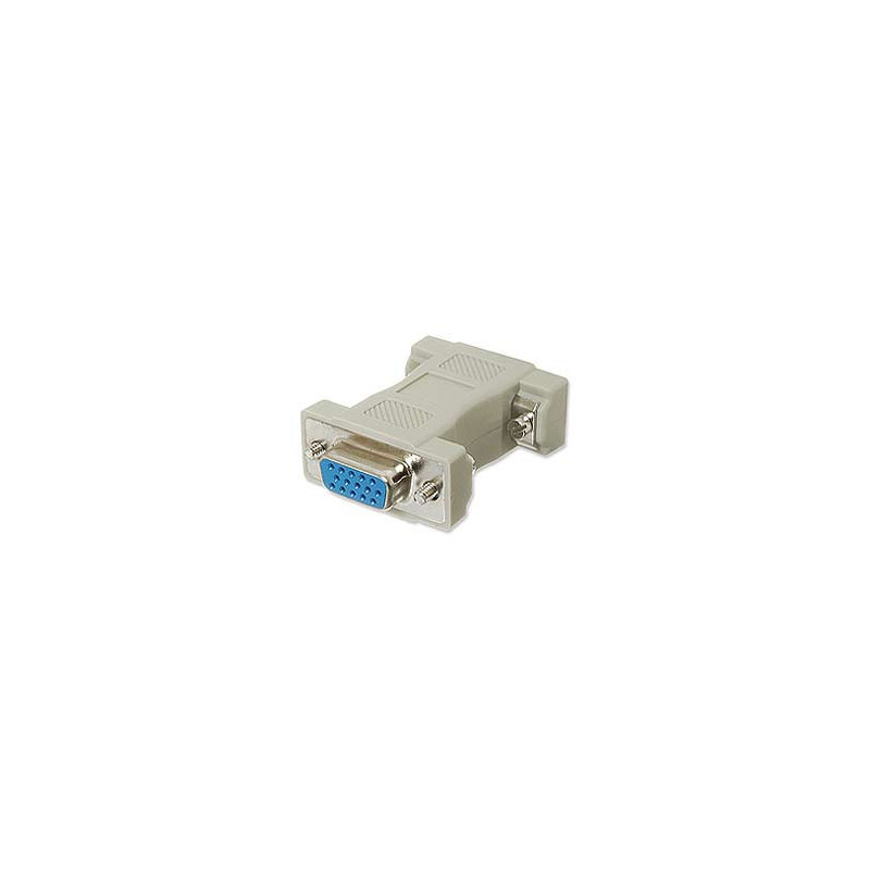 VGA ADAPTOR HD15 F/F