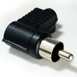 RCA RIGHT ANGLE CONNECTOR SOLDER TYPE