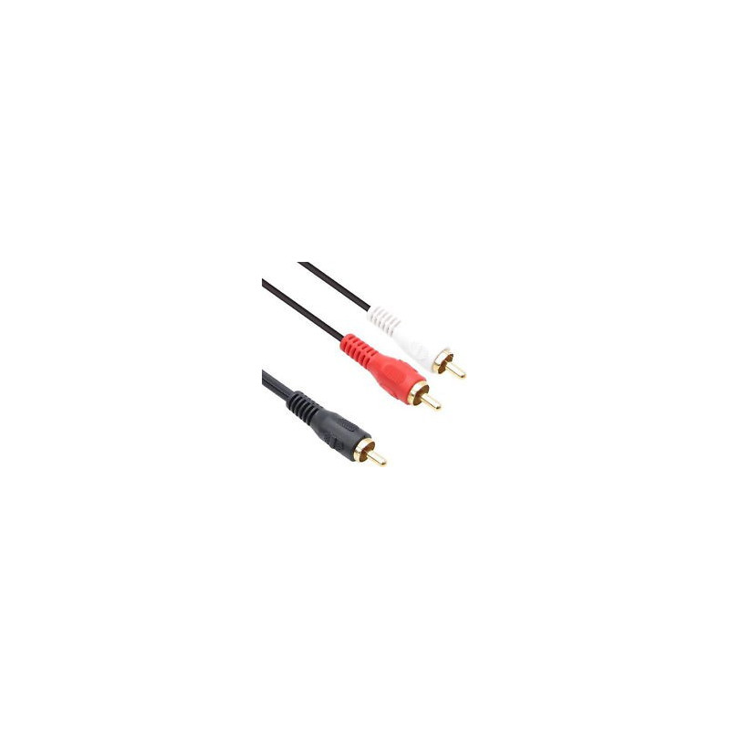 CABLE 1RCA (M)/ 2RCA(M) CABLE CG-123 6FT