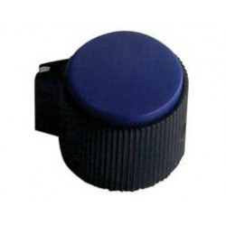 KNOBS RN-118E BLUE 6.4MM