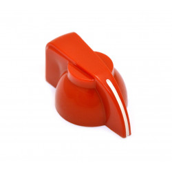 KNOBS FX-3216 CHICKEN HEAD RED