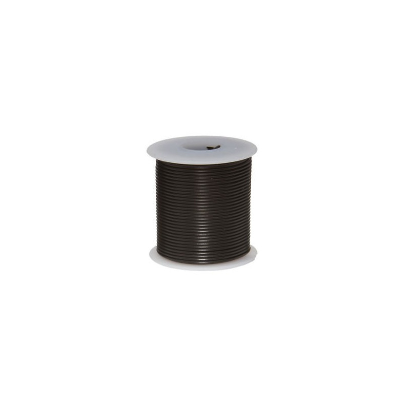 HOOK UP WIRE 2X18AWG BLACK 50FT/ROLL