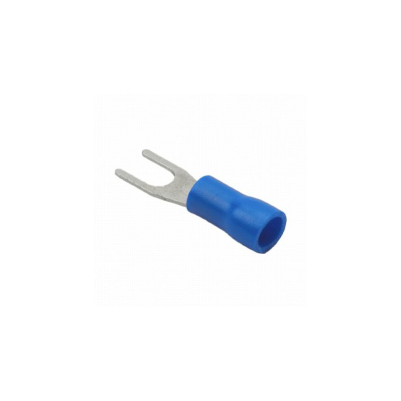 SPADE CONNECTOR SV2-3 BLUE